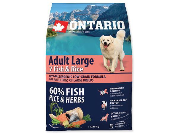 ONTARIO dog ADULT LARGE fish