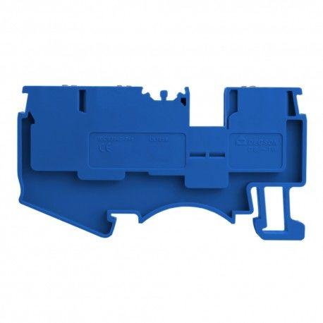 Złączka szynowa 1,5mm2 1P 3-przewodowa zacisk push-in niebieska 5668