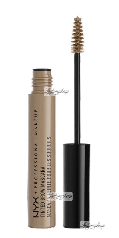 NYX Professional Makeup - TINTED BROW MASCARA - Tusz do brwi - BLONDE