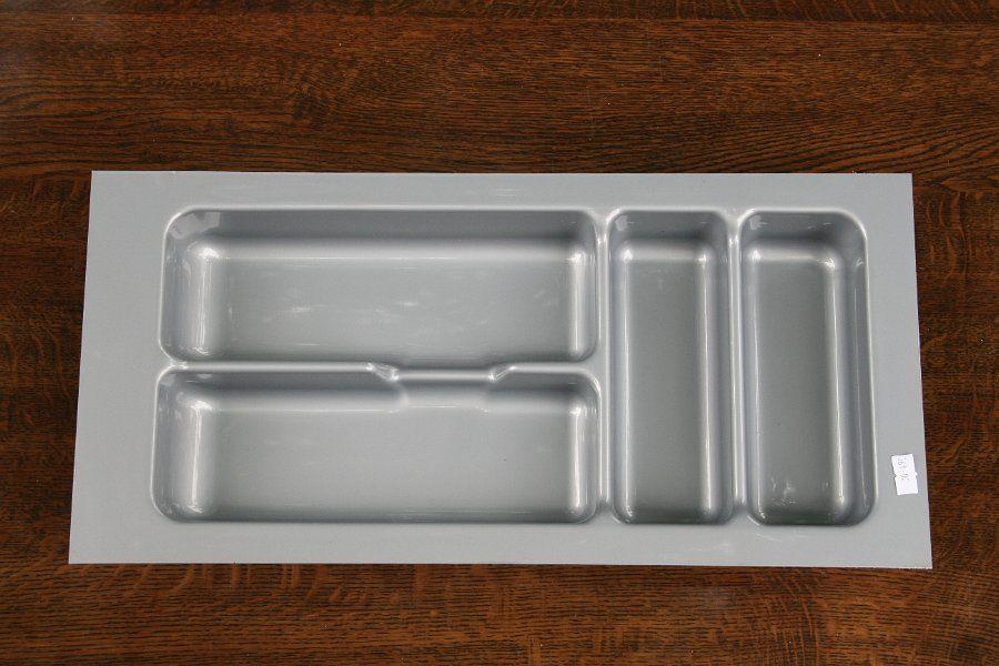 Wkład szuflady 490x30 aluminium ( 24cm x 49cm x 5cm)