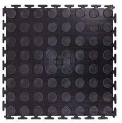 Mata pod sprzęt puzzle Avero 100 x 100 x 0,6 cm czarna Insportline