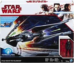 STAR WARS Force Link Kylo Ren''s TIE tłumik i figurka pilota