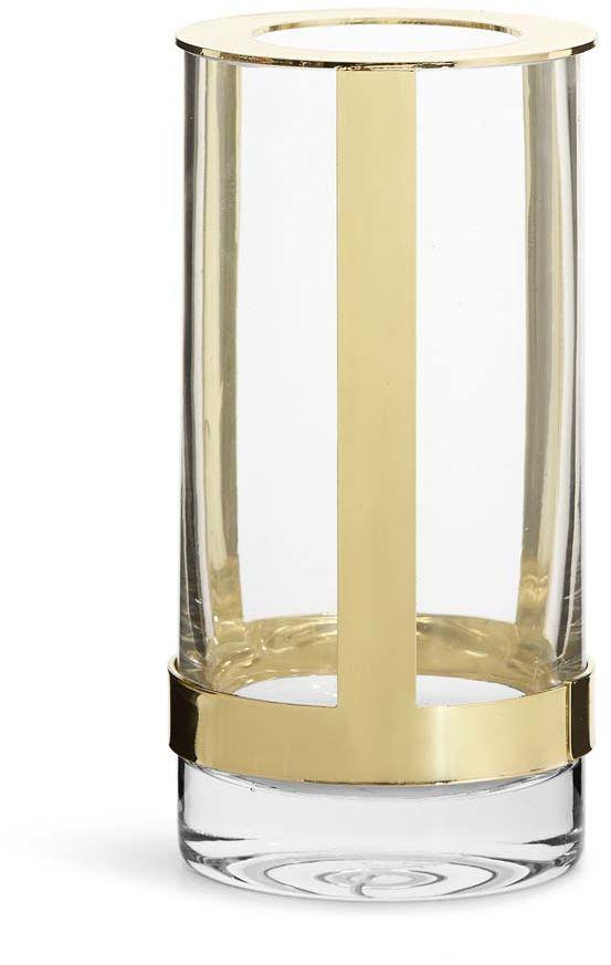 Wazon, regulowany 8 x 15 cm (złoty) Interiör Sagaform