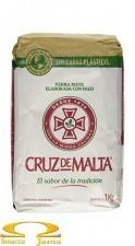 Yerba Mate Cruz de Malta con palo 1kg