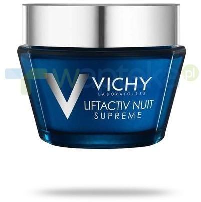 Vichy Liftactiv Night Supreme przeciwzmarszczkowa pielęgnacja ujędrniająca na noc do skóry wrażliwej 50 ml