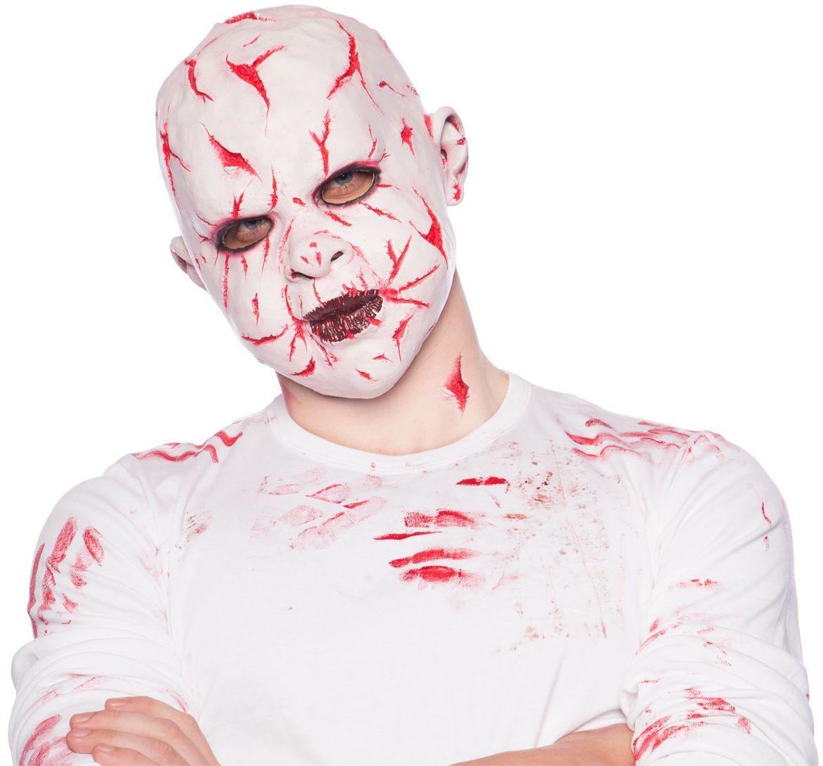 Folat 23827 Horror maska lateksowa Grusel Baby Halloween, wielokolorowa