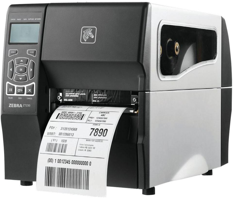 Półprzemysłowa drukarka kodów kreskowych Zebra ZT230