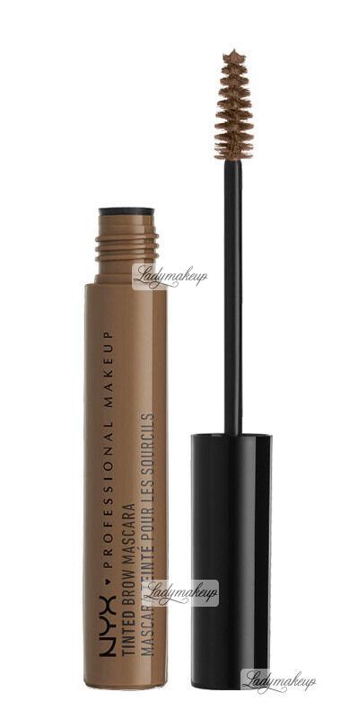 NYX Professional Makeup - TINTED BROW MASCARA - Tusz do brwi - CHOCOLATE