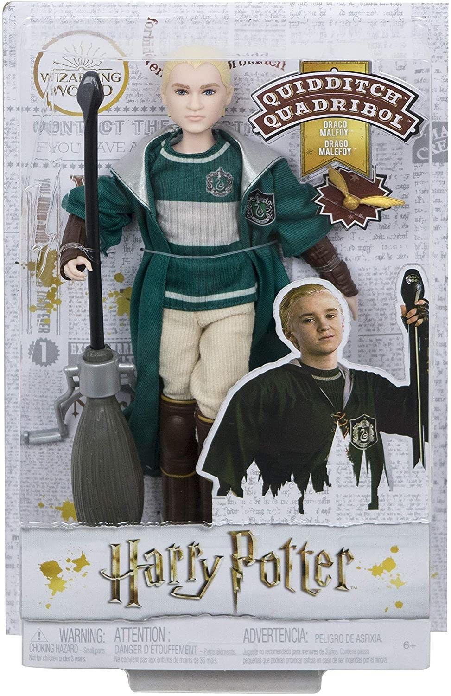 Harry Potter - Lalka Draco Malfoy w stroju Quidditch GDJ71