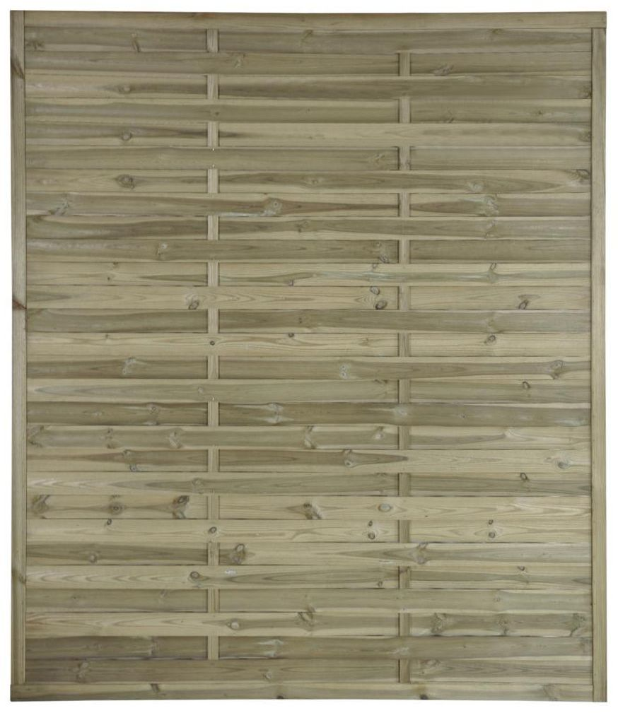 Płot lamelowy 150x180 cm drewniany STELMET