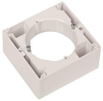 Sedna Puszka natynkowa pojedyncza biała SDN6100121