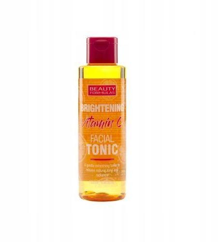 Beauty Formulas rozjaśniający tonik do twarzy z witaminą C 150 ml
