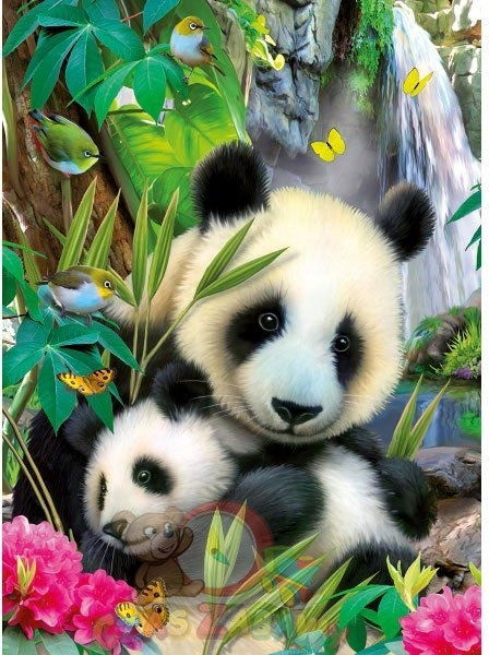 Ravensburger - Puzzle Kochana Panda 300 elem. 130658