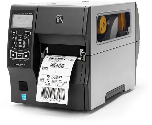 Półprzemysłowa drukarka kodów kreskowych Zebra ZT410