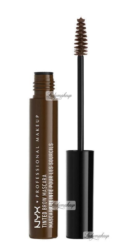 NYX Professional Makeup - TINTED BROW MASCARA - Tusz do brwi - ESPRESSO
