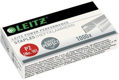 Zszywki małe LEITZ No.10 MAŁE Power Performance P2 1000 szt
