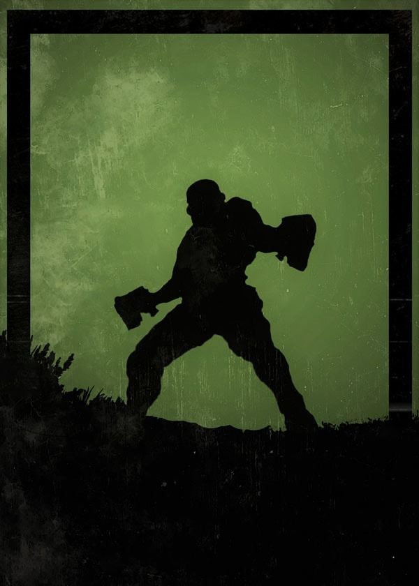 Dawn of heroes - doom marine, doom - plakat wymiar do wyboru: 20x30 cm