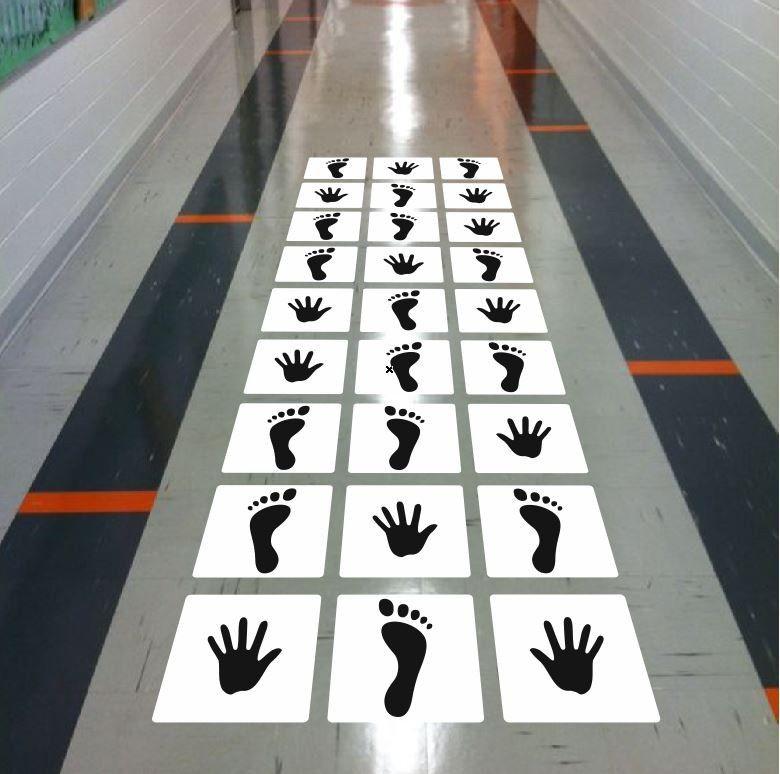 Stopy i Dłonie - gra sprawnościowa