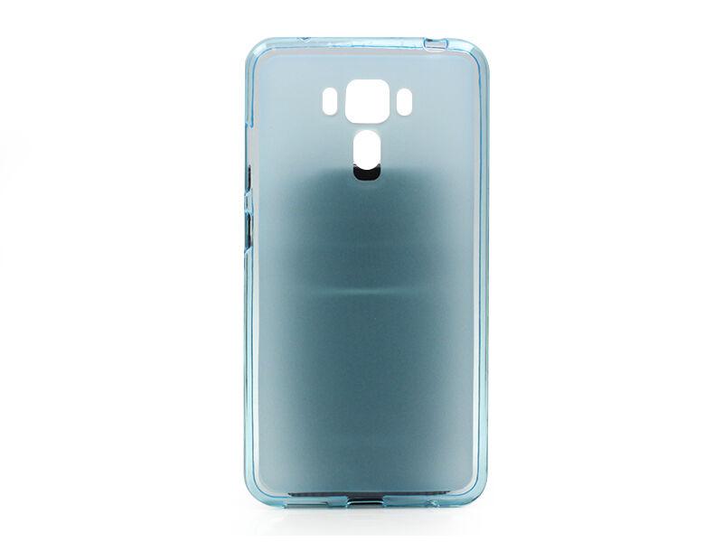Asus Zenfone 3 Laser (ZC551KL) - etui na telefon FLEXmat Case - niebieski