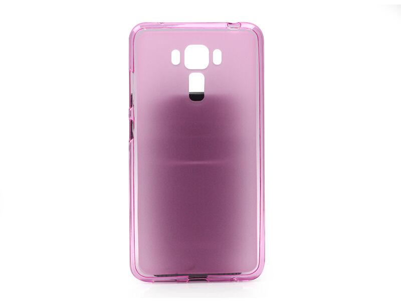 Asus Zenfone 3 Laser (ZC551KL) - etui na telefon FLEXmat Case - różowy