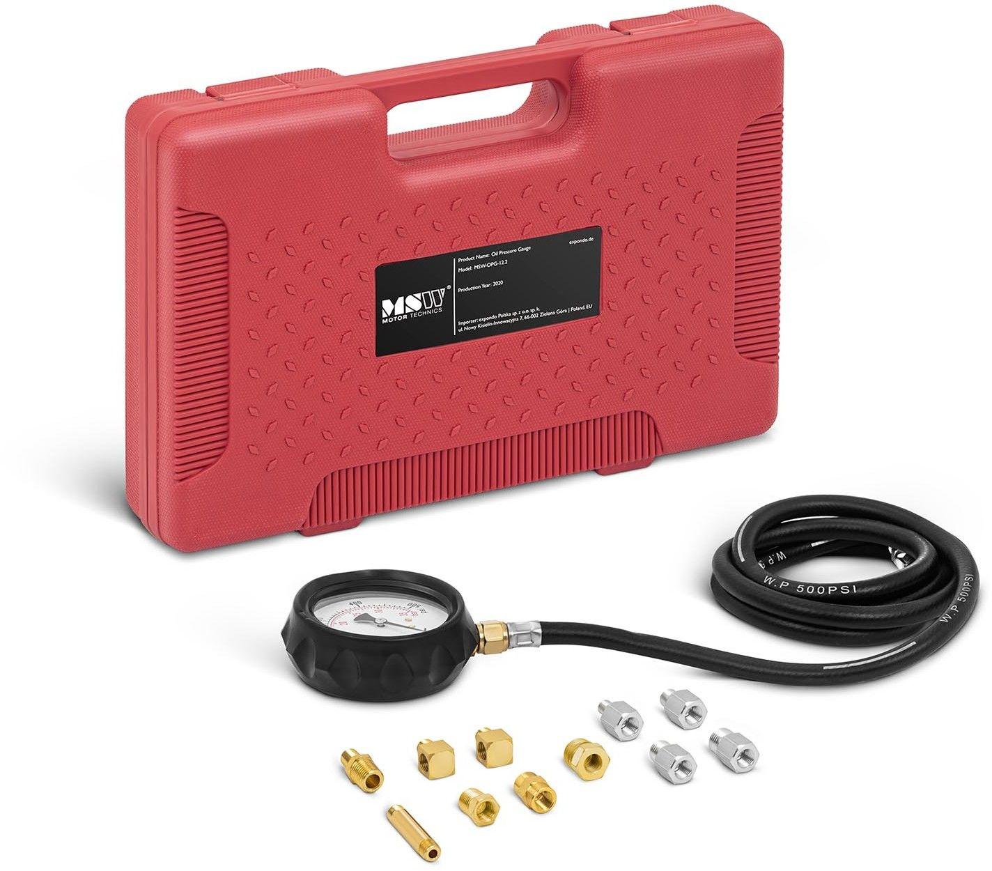 Miernik ciśnienia oleju - 12 elementów - do 35 bar - MSW - MSW-OPG-12.2 - 3 lata gwarancji/wysyłka w 24h