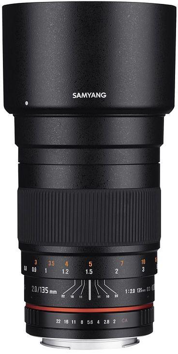 Obiektyw Samyang 135mm F2.0 ED UMC Pentax