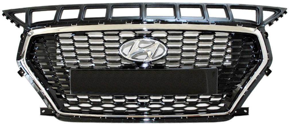 Nowy Oryginalny Grill Atrapa Przednia Emblem Hyundai i30 od 2017 86351G4000