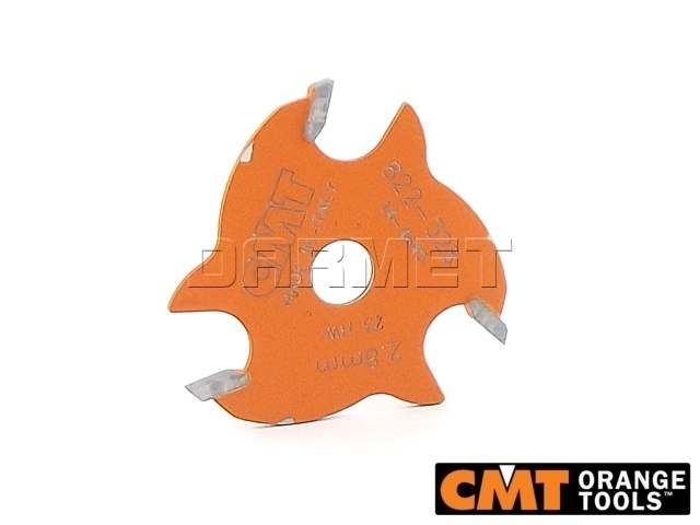 Frez piłkowy do drewna, średnica 47,6 mm, średnica otworu 8 mm, wysokość cięcia 2,8 mm - CMT (822.328.11)
