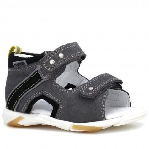 Bartek Baby 71188/ -W35 sandałki sandały profilaktyczne dla dzieci - szaro czarny