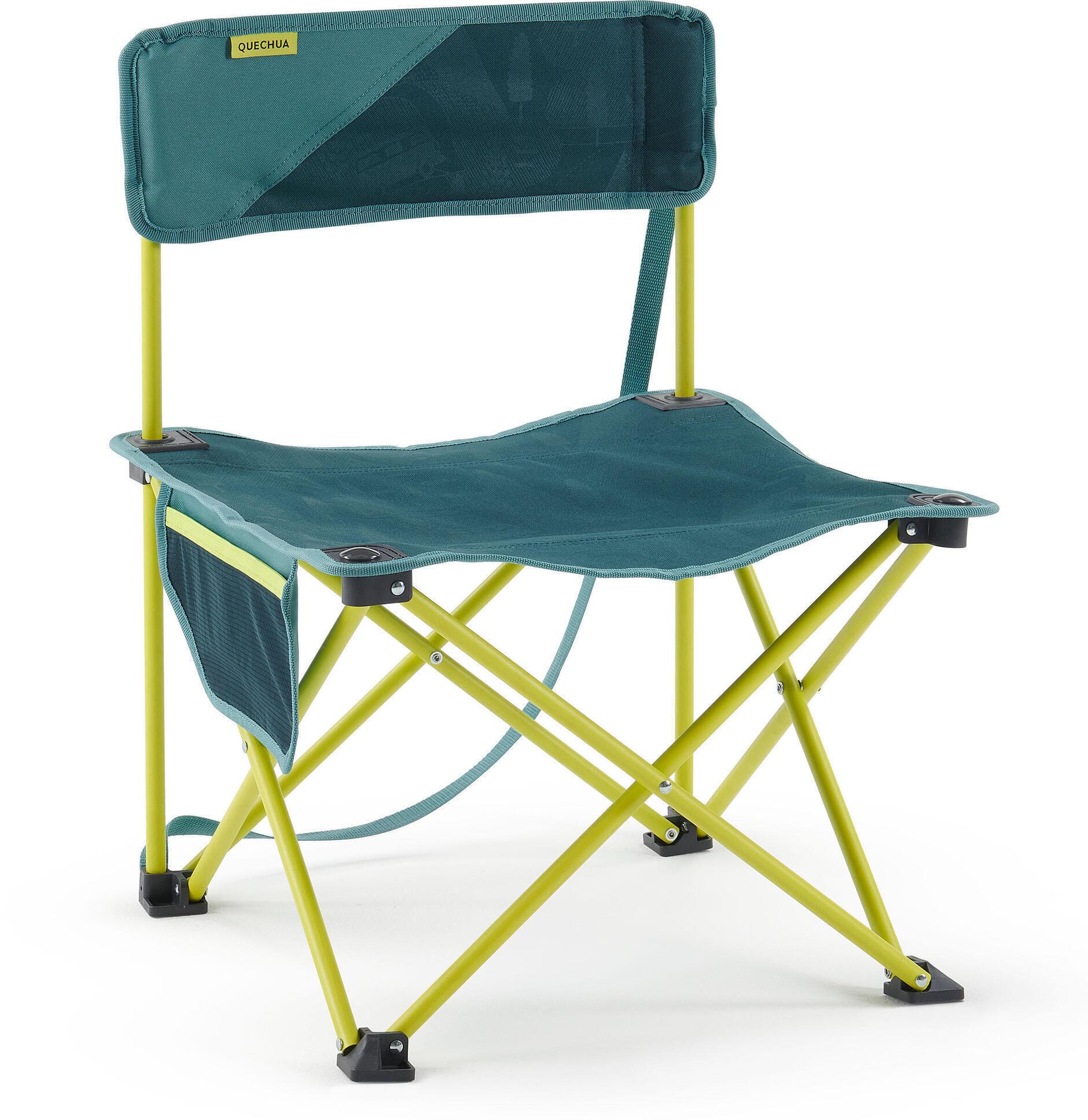 Niskie składane krzesło kempingowe MH100