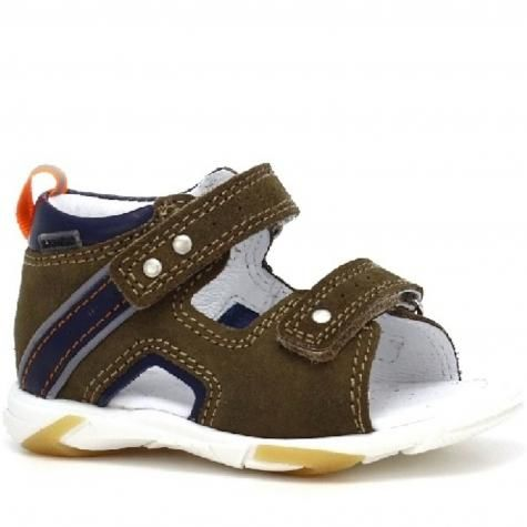 Bartek Baby 71188/ -W37 sandałki sandały profilaktyczne dla dzieci - brąz granat