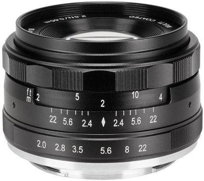 Obiektyw Meike 50mm f/2,0 - mocowanie Fujifilm X