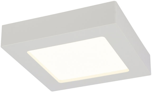 Globo SVENJA 41606-18 lampa sufitowa biała LED 18W 3000K 22,7cm IP44