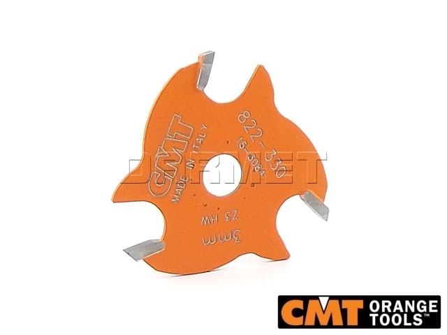 Frez piłkowy do drewna, średnica 47,6 mm, średnica otworu 8 mm, wysokość cięcia 3 mm - CMT (822.330.11)