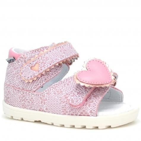 Bartek 71181/ N36 sandały sandałki półbuty profilaktyczne dziewczęce - różowe