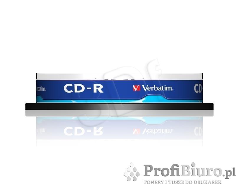 CD-R Verbatim 700MB 52x 10szt. spindle