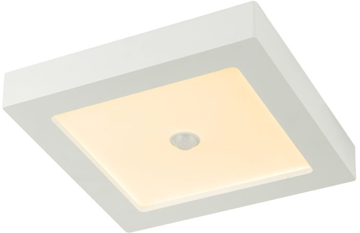 Globo SVENJA 41606-18S lampa sufitowa biała LED 18W 3000K 22,7cm IP44
