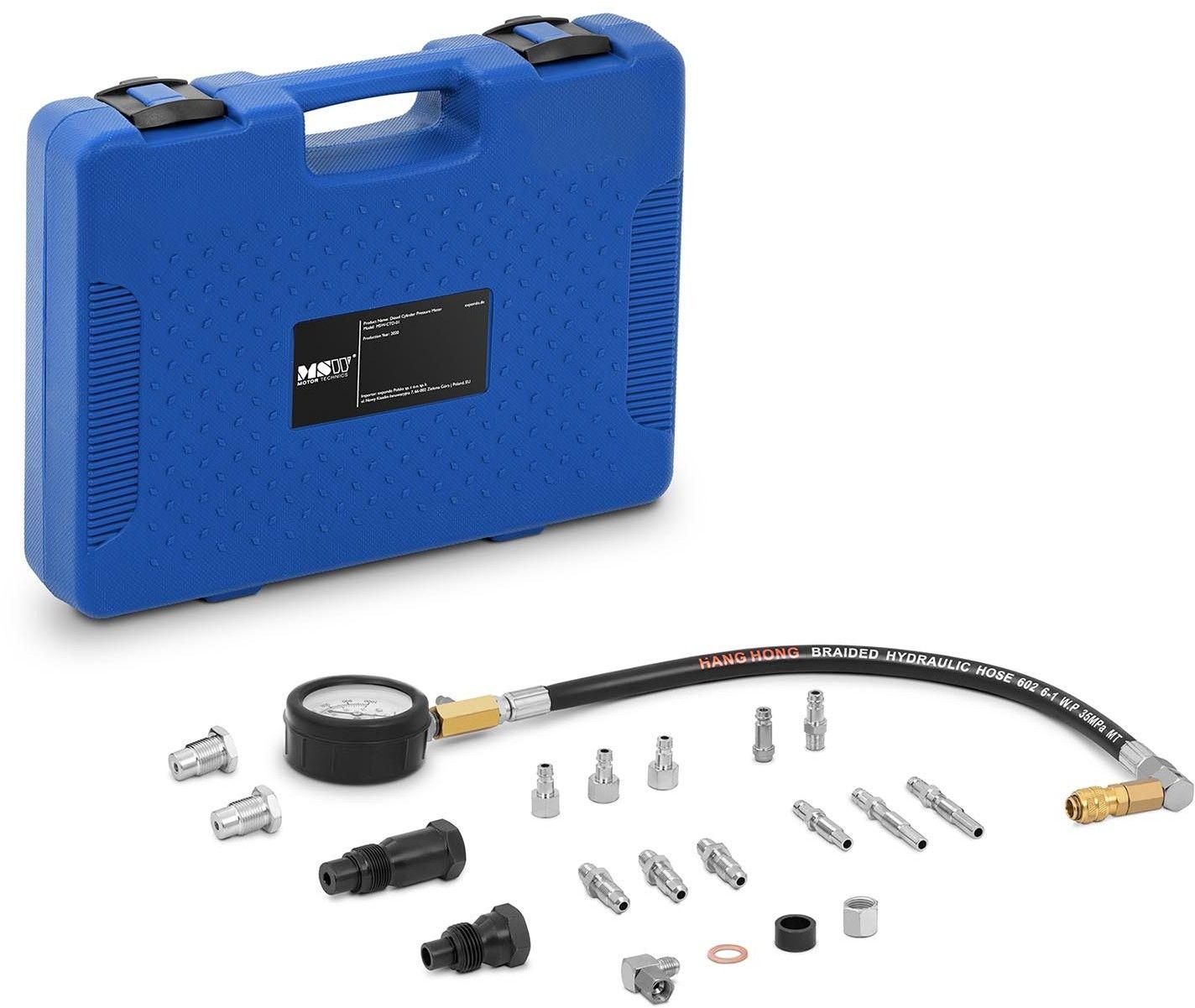 Miernik kompresji - Diesel - przewód 45 cm - MSW - MSW-CTD-01 - 3 lata gwarancji/wysyłka w 24h