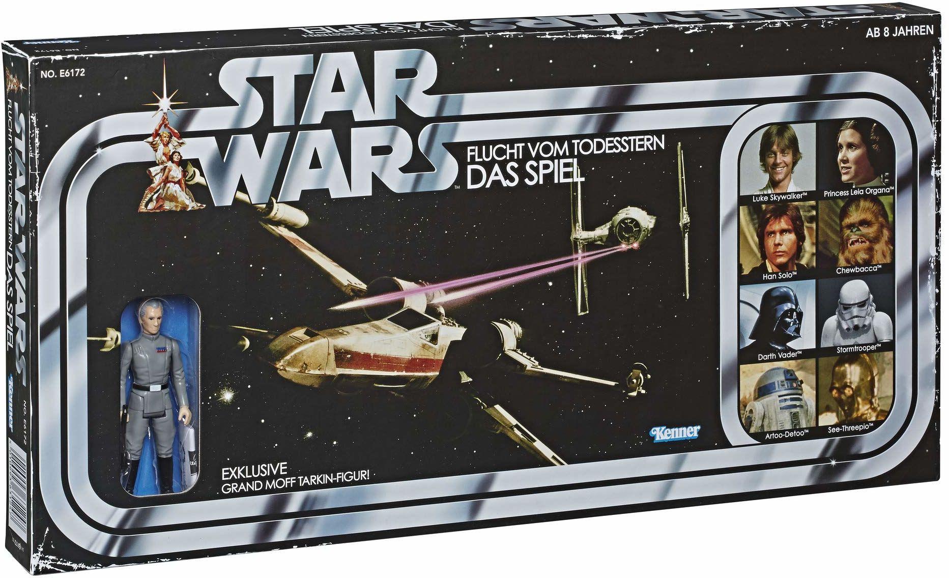Star Wars Retro Game ucieczka od Gwiazdy Śmierci z ekskluzywną figurką tarkina, od 8 lat