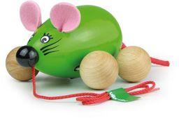 Vilac 2050 g Lisa Pull wzdłuż myszy, zielony, wielokolorowy