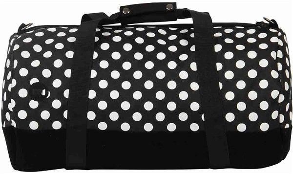 torba podróżna MI-PAC - Duffel All Polka Blk/White-Blk (100