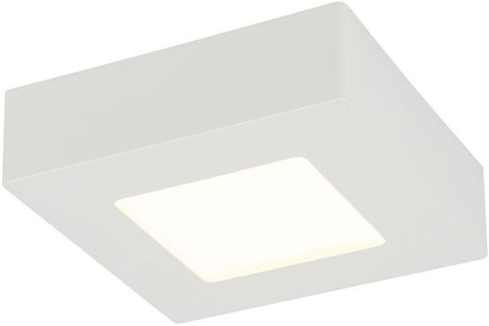 Globo SVENJA 41606-6 lampa sufitowa biała LED 6W 3000K 12,2cm IP44