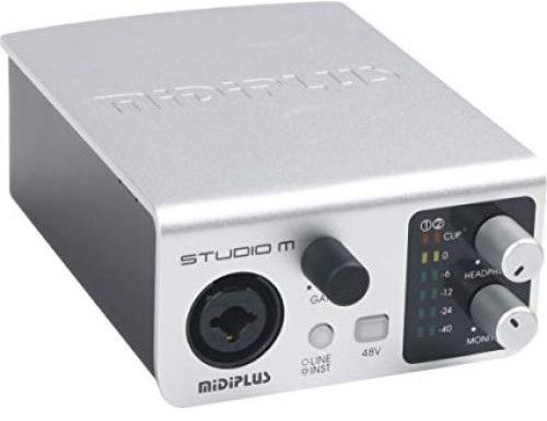 MIDIPLUS- STUDIO M - Interfejs USB / Audio
