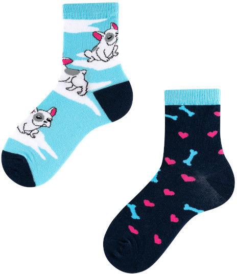 Lovely Dog Kids, Todo Socks, Piesek, Szczeniak, Kolorowe Skarpetki Dziecięce