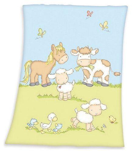 Herding Koc dziecięcy Fynn Farma, 75 x 100 cm