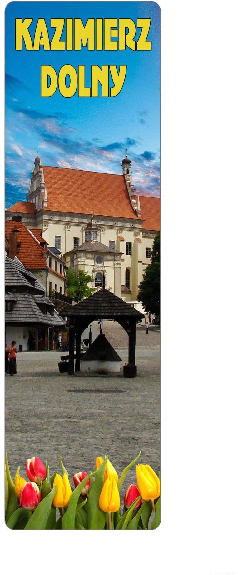 Zakładka do książki 2D -Kazimierz Dolny