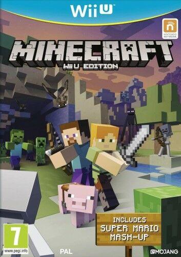 Minecraft Wii U Używana