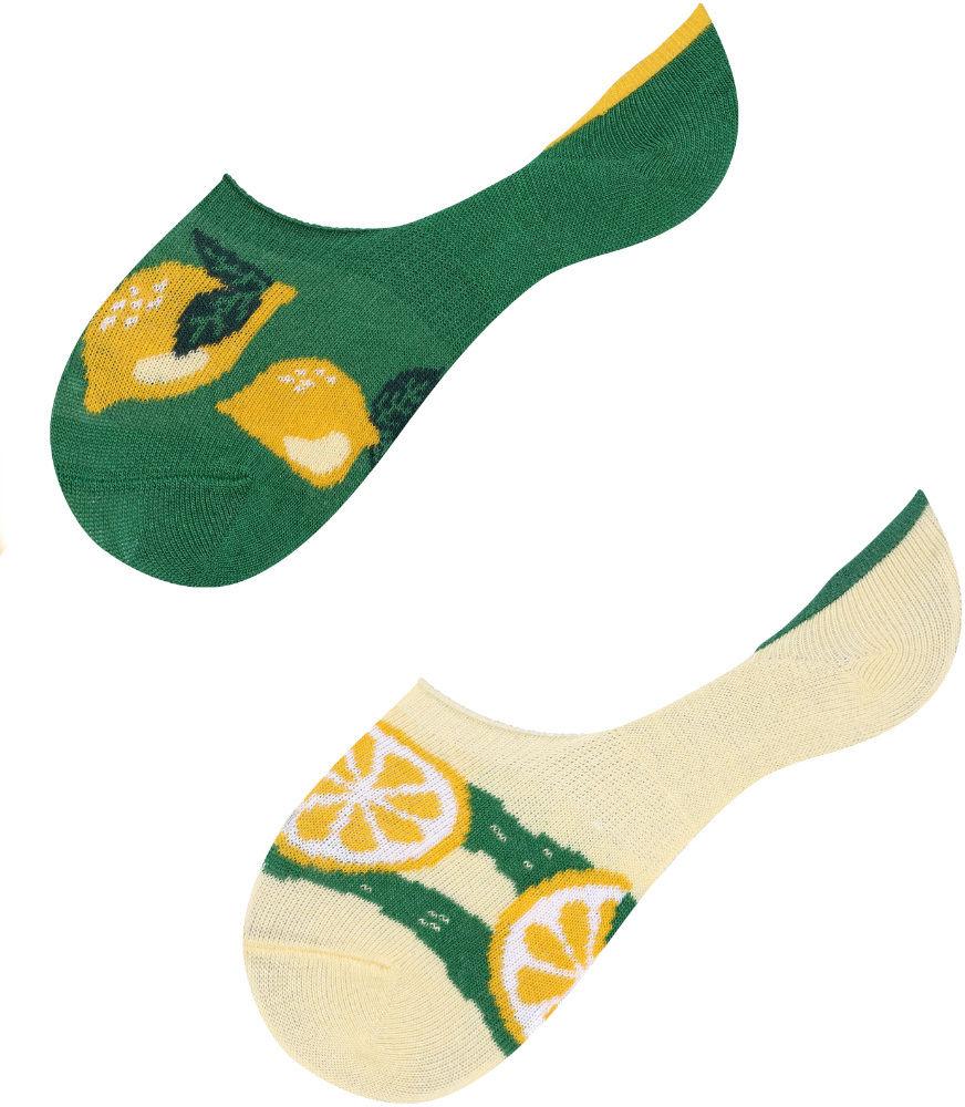 Mikrostopki, Lemon Kids, Todo Socks, Cytryny, Owoce, Kolorowe Dziecięce