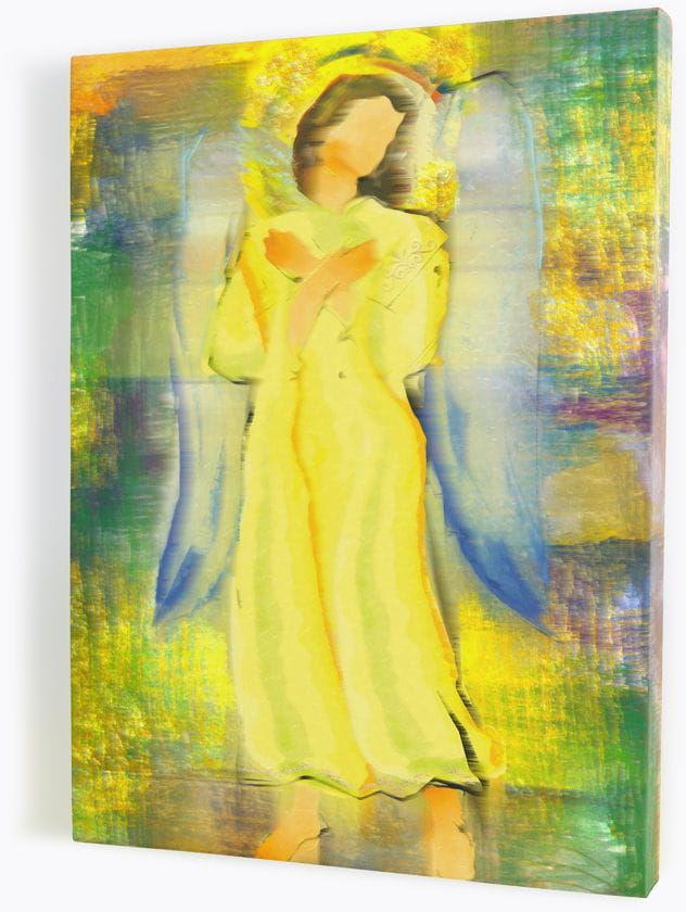Anioł-obraz religijny na płótnie