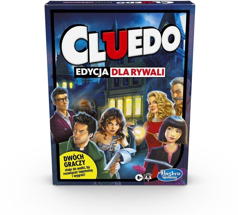 Hasbro Cluedo Edycja dla Rywali